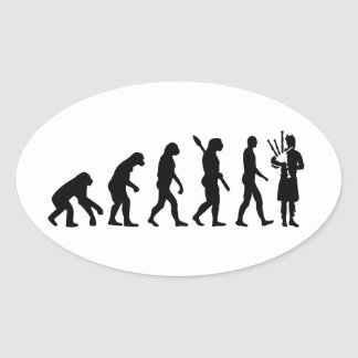 Evolution Bagpipe Stickers