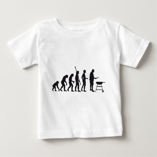 evolution barbecue baby T-Shirt