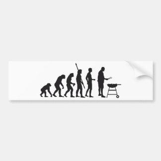 evolution barbecue bumper stickers