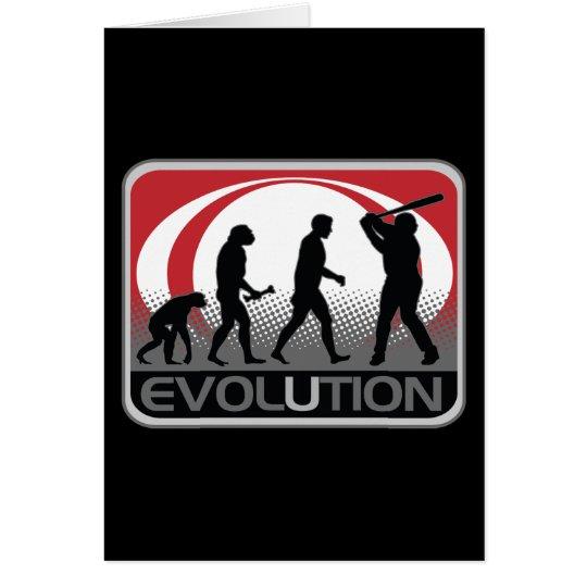 Evolution Baseball Card