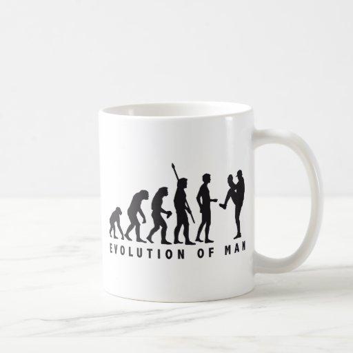 evolution baseball coffee mugs