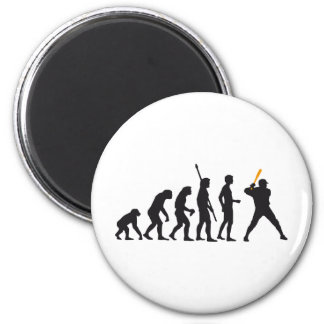 evolution baseball magnet
