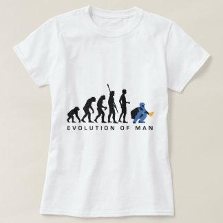 evolution baseball more catcher T-Shirt