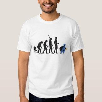 evolution baseball more catcher tee shirt