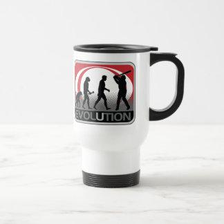 Evolution Baseball 15 Oz Stainless Steel Travel Mug