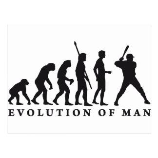 evolution baseball tarjetas postales