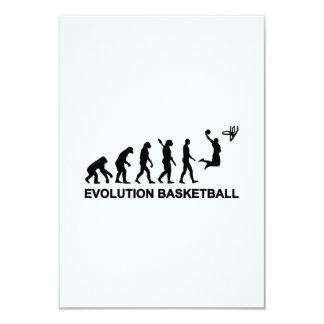 Evolution Basketball Invitation