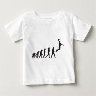 Evolution - Basketball Jump Baby T-Shirt