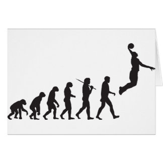 Evolution - Basketball Jump Card