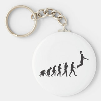Evolution - Basketball Jump Keychain