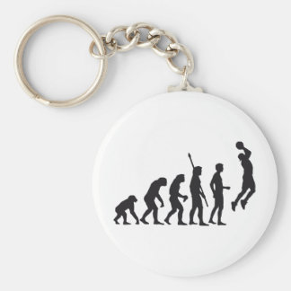 evolution basketball keychain