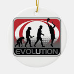 Evolution Basketball Ornament