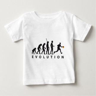 evolution basketball playera de bebé