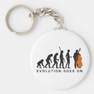 evolution bass keychain