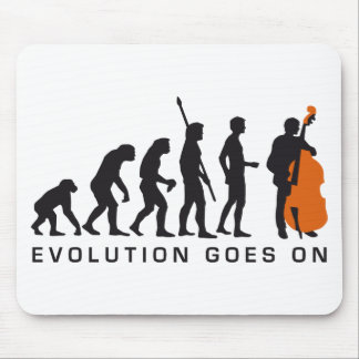 evolution bass mouse pad