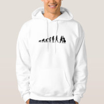 Evolution Bass Player Hoodie