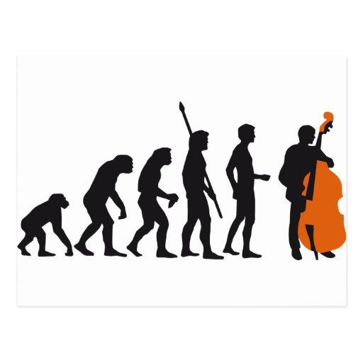 evolution bass tarjeta postal