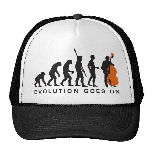 evolution bass trucker hat