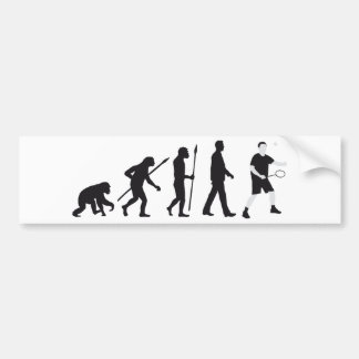 evolution bath min tone bumper sticker