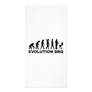 Evolution BBQ Barbecue Customized Photo Card