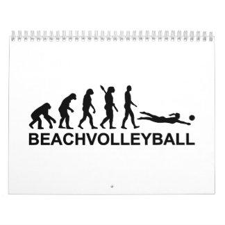 Evolution beachvolleyball calendar