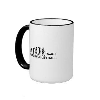 Evolution beachvolleyball coffee mugs
