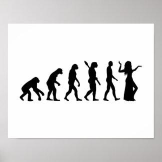 Evolution Belly dance Poster