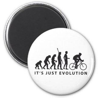 evolution bicycle magnet