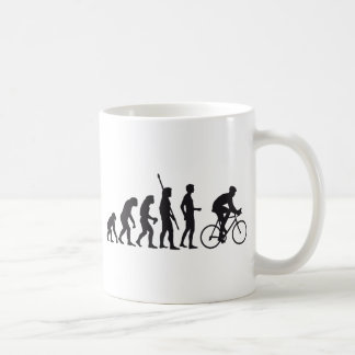 evolution bicycle tazas de café