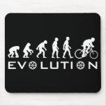 Evolution Bike Black Mouse Pad