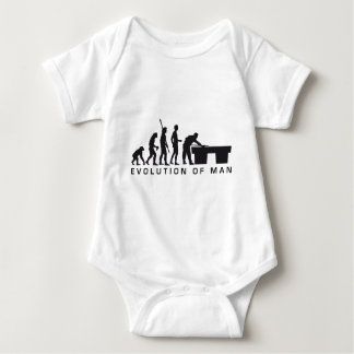evolution billard baby bodysuit