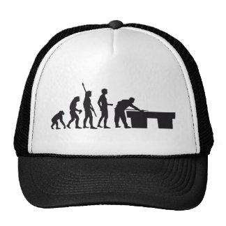 evolution billard trucker hats