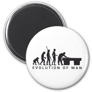 evolution billard magnet