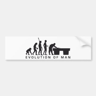 evolution billard pegatina para auto