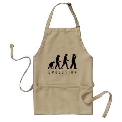 Apron with Evolution: Birder design