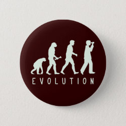 Round Button with Evolution: Birder design
