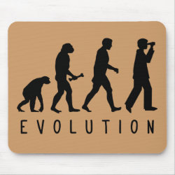 Evolution: Birder Mousepad