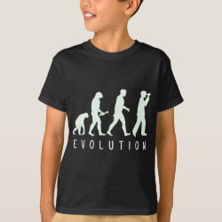 Kids' Hanes TAGLESS® T-Shirt with Evolution: Birder design