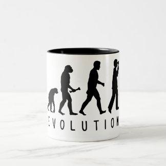 Evolution: Birder Two-Tone Coffee Mug