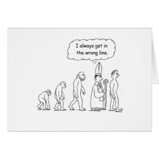 Evolution Birthday Card