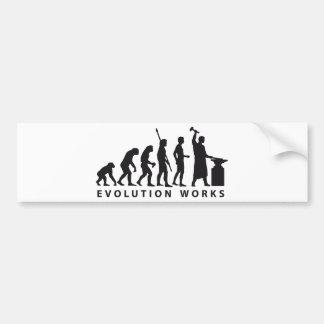 evolution blacksmith etiqueta de parachoque