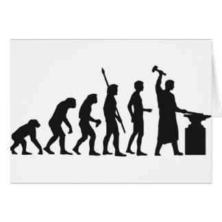 evolution blacksmith tarjetas