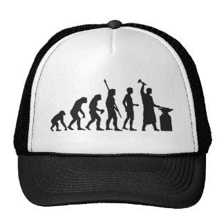 evolution blacksmith trucker hat
