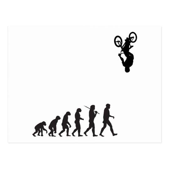 Evolution - BMX Bike Flip Postcard