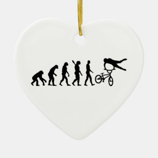 Evolution BMX Ceramic Ornament