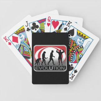 Evolution BodyBuilder Bicycle Playing Cards