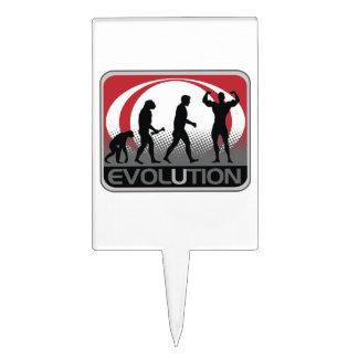 Evolution BodyBuilder Cake Topper