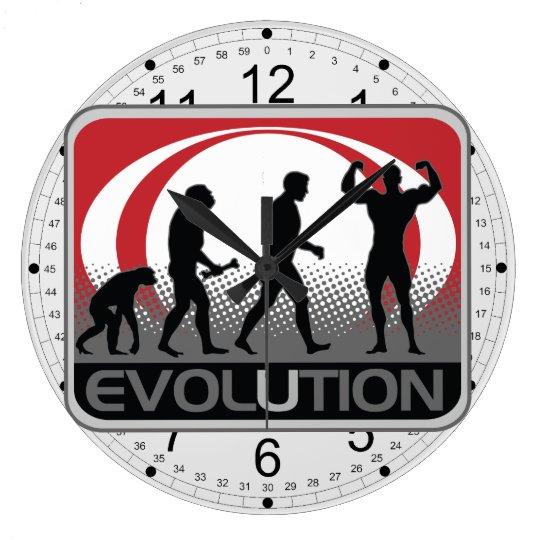 Evolution BodyBuilder Large Clock