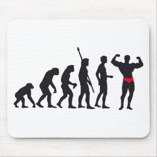 evolution bodybuilding mouse pad
