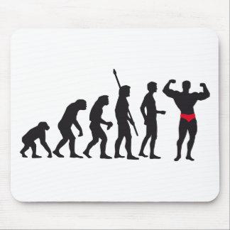 evolution bodybuilding mouse pad